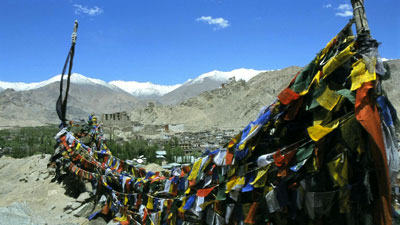 Prayer Flags across Leh, Ladakh